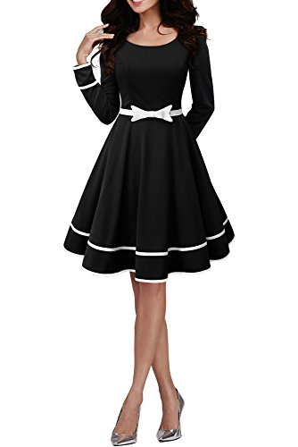 BlackButterfly 'Grace' Vintage Clarity Dress (Black, US 10)