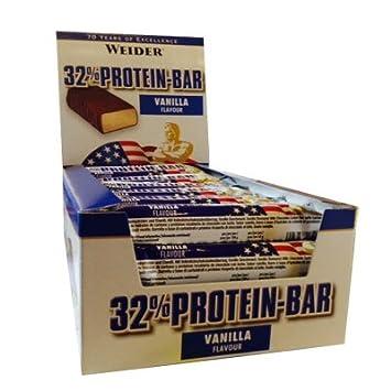 Weider - 32% Protein Bar - Riegel 24er Box Weiße Schokolade-Banane