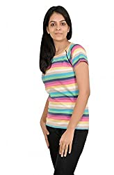 Baboon Women's Shirt (baboon-11_Multi coloured_Large)