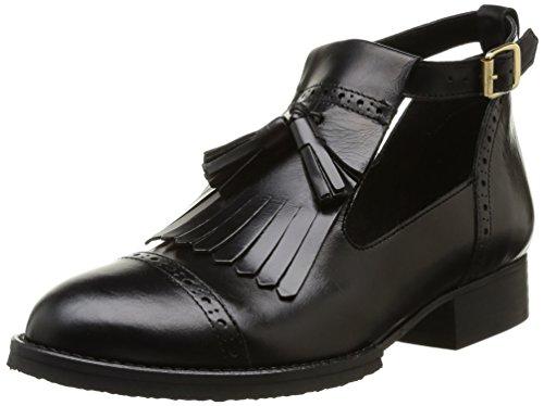 Jonak - Stivali 225-2432/cu/h4 Donna, Nero (Noir (Cuir Noir)), 40