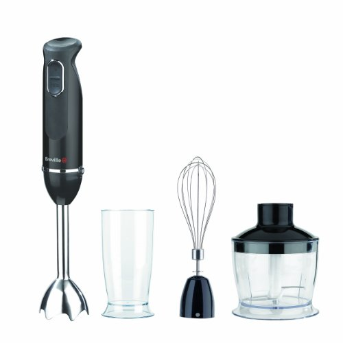 Breville VHB061 800 W Black and Chrome Hand Blender Set