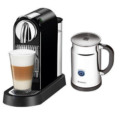 Nespresso Citiz Espresso Maker with Aeroccino Plus Milk Frother, Black (Nespresso Citiz Espresso compare prices)