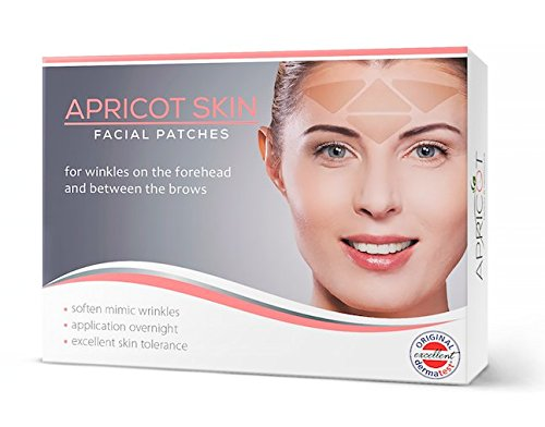 NEW-on-Amazon-USA-BESTSELLER-in-Germany-Apricot-Skin-facial-patches-FOREHEAD