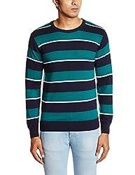 People Men's Cotton Sweater (8903880690069_P10101188002219_XX-Large_Navy)