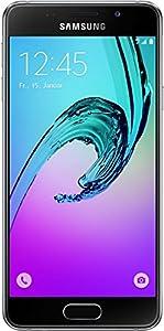 Samsung A3 Smartphone débloqué 4G (Ecran: 4,7 pouces - 16 Go - Simple Nano-SIM - Android) Noir