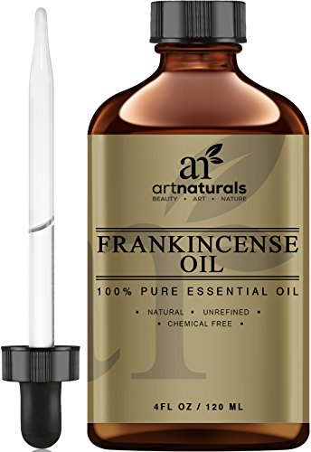 Art Naturals Frankincense Essential Oil - Large 4 oz - 100% Pure & Natural Undiluted Therapeutic Grade -Best Premium Quality Oil