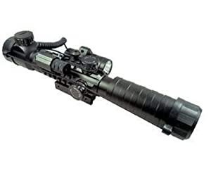 Swamp Fox 3-9x32COMBO Rifle Scope w  Laser Sight & Flashlight Aluminium for AR15... by Swamp Fox