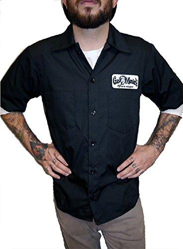 Fast Loud N Gas Monkey Garage-Maglietta a maniche corte nero Medium