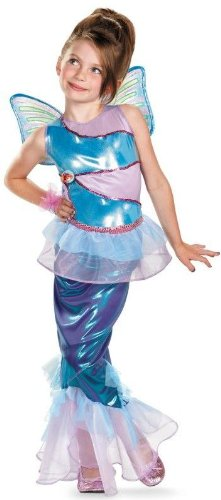 Winx Club Bloom Mermaid Kids Costume deluxe