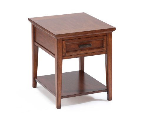 Image of Harbor Bay Square End Table - Magnussen - T1392-03 (t1392-03)