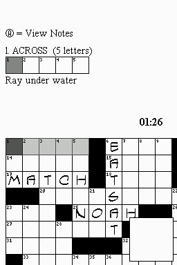 New York Times Crossword  screenshot