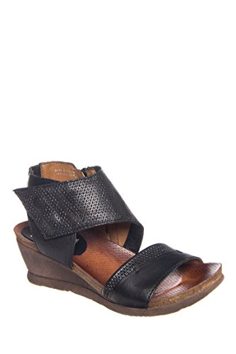 Seline Casual Low Wedge Sandal