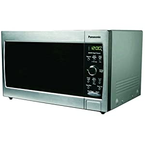 Panasonic NN-SD377S 0.8 cuft, 800 Watt Stainless Steel Microwave Oven, Auto Cook