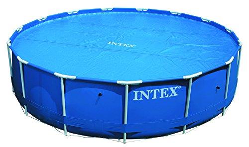 Intex Solarabdeckplane für Easy & Frame Pool, Blau, Ø 366 cm