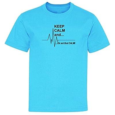 Keep calm Ok Not that calm Youth T-Shirt