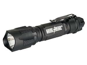 Brite Strike BDRC-HLS Tactical Blue Dot Series 340-Lumen Hi Lo Strobe Rechargeable LED Flashlight
