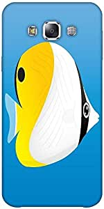 Snoogg A Vector Illustration Of A Yellow Solid Snap On - Back Cover All Aroun...