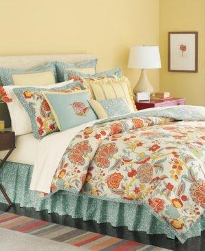 Martha Stewart Collection Bedding, Elizabetha 4 Piece Twin Comforter Set front-1059164