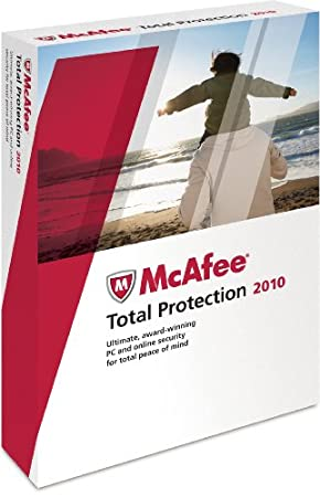 McAfee Total Protection 2010 3-User