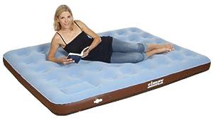 Simex Sport Luftbett Double Comfort Plus, hellblau/braun, 40067