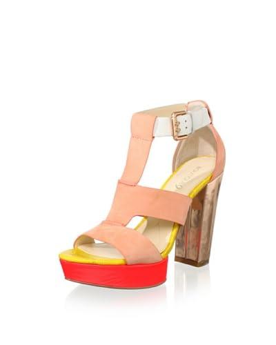 Boutique 9 Women's Rivington T-Front Sandal  [Light Orange]