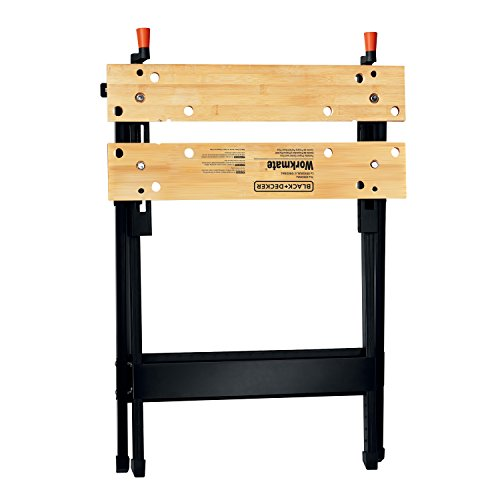Black Decker Hand Tool Prevent Sliding Workmate Capacity Portable Work Bench