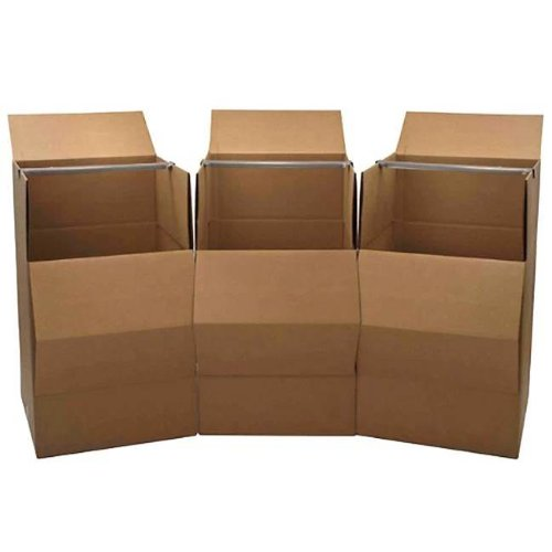 Cheap Cheap Moving Boxes Wardrobe Moving Boxes, 3-Pack (242440Ward3) (Wardrobe Packing Boxes compare prices)