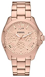 Rose Gold Cecile Multifunction Stainless Steel Watch by Fossil