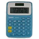 CASIO カラフル電卓 8桁(ペパーミントブルー) MS-6VC-JBU-N