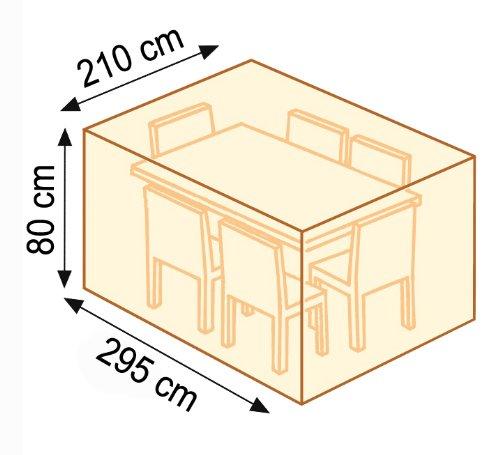 Videx-22184-Cover-Lilie-Tischgruppe-rechteckig-295-x-210-x-80-cm