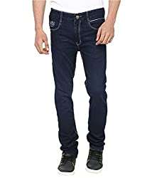 Jeans For Men Fashionable Fancy Printed and Embroidered Back Pocket