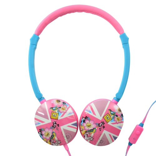 Accessorize On Ear Headphones  In Line Microphone
