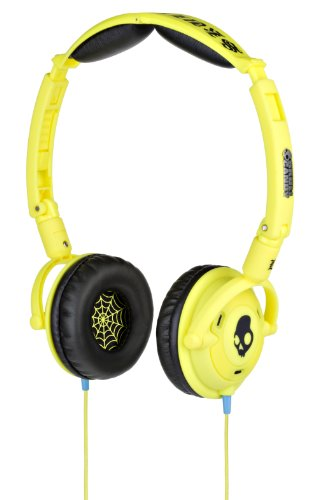 Skullcandy Lowrider Headphones W/Mic (Shoe Yellow)