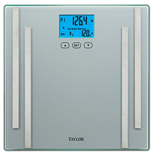 Taylor Bluetooth Smart Body Fat Scale with Fitness App (Scale App compare prices)