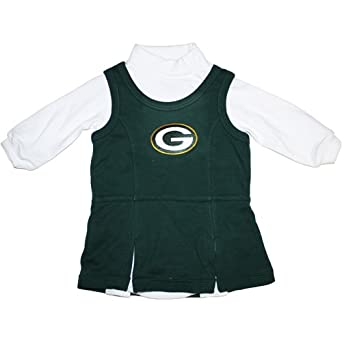 Green Bay Packers Baby Girls Turtleneck Jumper
