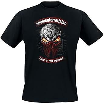 KNEIPENTERRORISTEN - Rock n Roll Outlaws - T-Shirt Größe S