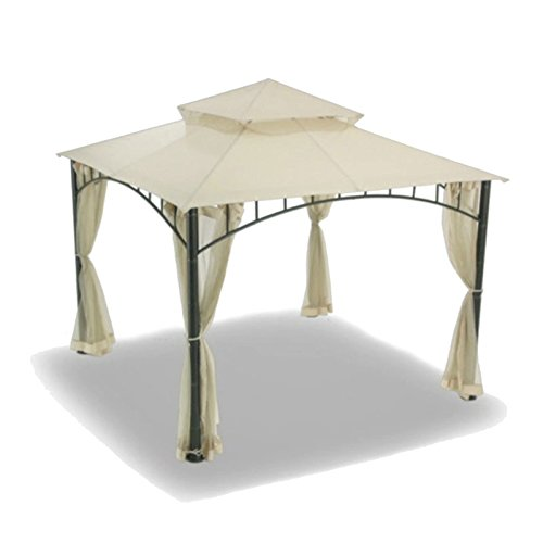 OPEN BOX Replacement Canopy for Target's Summer Veranda Gazebo - Beige (Target Madaga Gazebo compare prices)