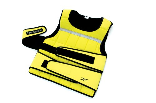 Reebok Adjustable Weight Vest - Yellow, 4.5 Kg