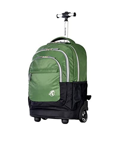 Olympia USA Gen-X 20 Rolling Backpack, Green