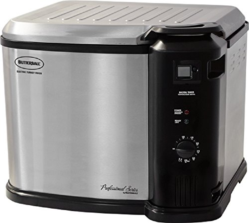 Great Features Of Masterbuilt Butterball XXL Digital Indoor Electric Turkey Fryer (Largest Capacity, Newest Model) (Stainless Steel)