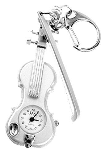JAS Unisex Novelty Belt Fob/keychain Watch – Violin image