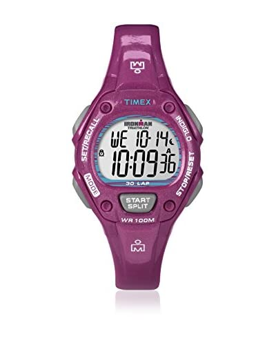 Timex Orologio al Quarzo Woman Irm 30 Lap Shimmer Bordeaux 34 mm
