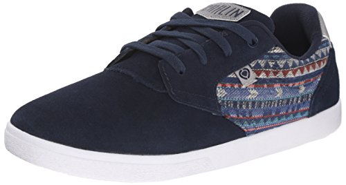 C1RCA Men's JC01 Skate Shoe, Navy/Frost Gray, 5 M US