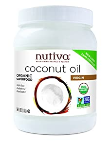 Nutiva Organic Virgin Coconut Oil, 54-Ounce Jar