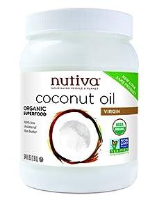 Nutiva Organic Virgin Coconut Oil, 54-Ounce Jar