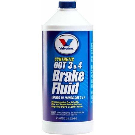 Valvoline DOT 3 and 4 Brake Fluid, 32 fl oz (Brake Fluid Dot 4 Low Viscosity compare prices)