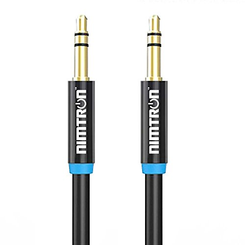 Cheapest Prices! Nimtron Audio Aux Cable - 3.5mm Male to Male Stereo Audio Auxiliary Cable for Apple...