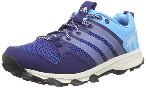 adidasKanadia 7 Trail - Scarpe da Trail Running Donna , Blu (Blau (Midnight Indigo F15/Chalk White/Bright Cyan)), 40