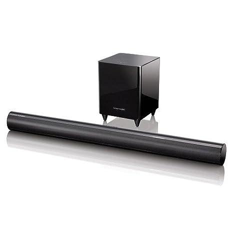 Harman Kardon SB 30/230 Multicanaux Système de Haut Parleurs Actifs avec Caisson de Basses - Noir