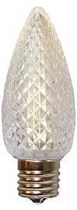 American Lighting 035-C9-LED5-WW Retrofit C9 Premium LED Bulbs, Faceted, Super Bright, Warm White, 25-Pack